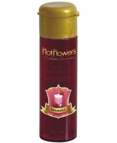 Gel Aromatizante Hot Espanhola para sexo Oral - HFHC328