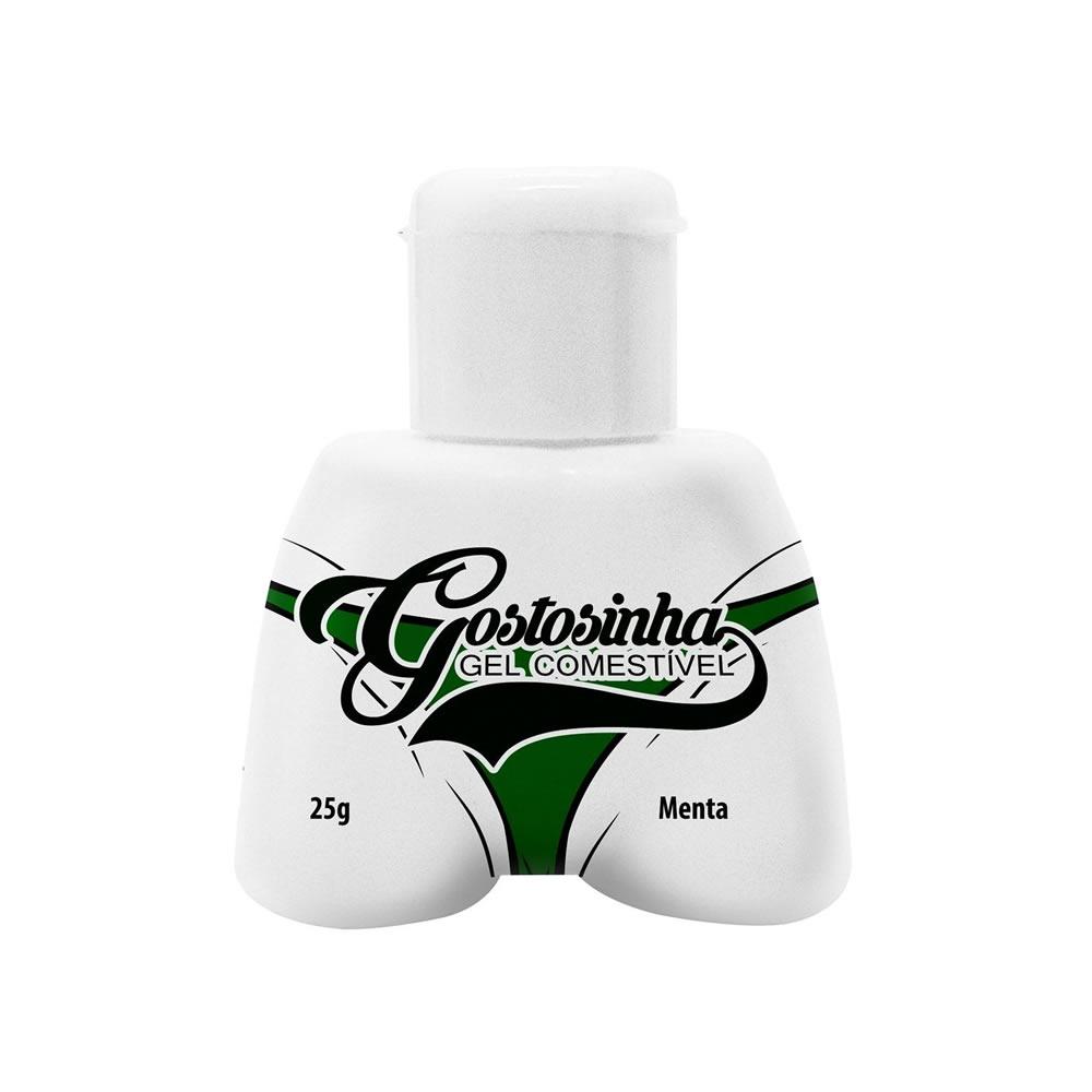 Gel Comestível Gostosinha Menta para Sexo Oral - HFPB234