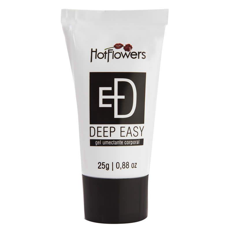 Gel Deep Easy Umectante e Anestésico Anal Unissex - HFHC249