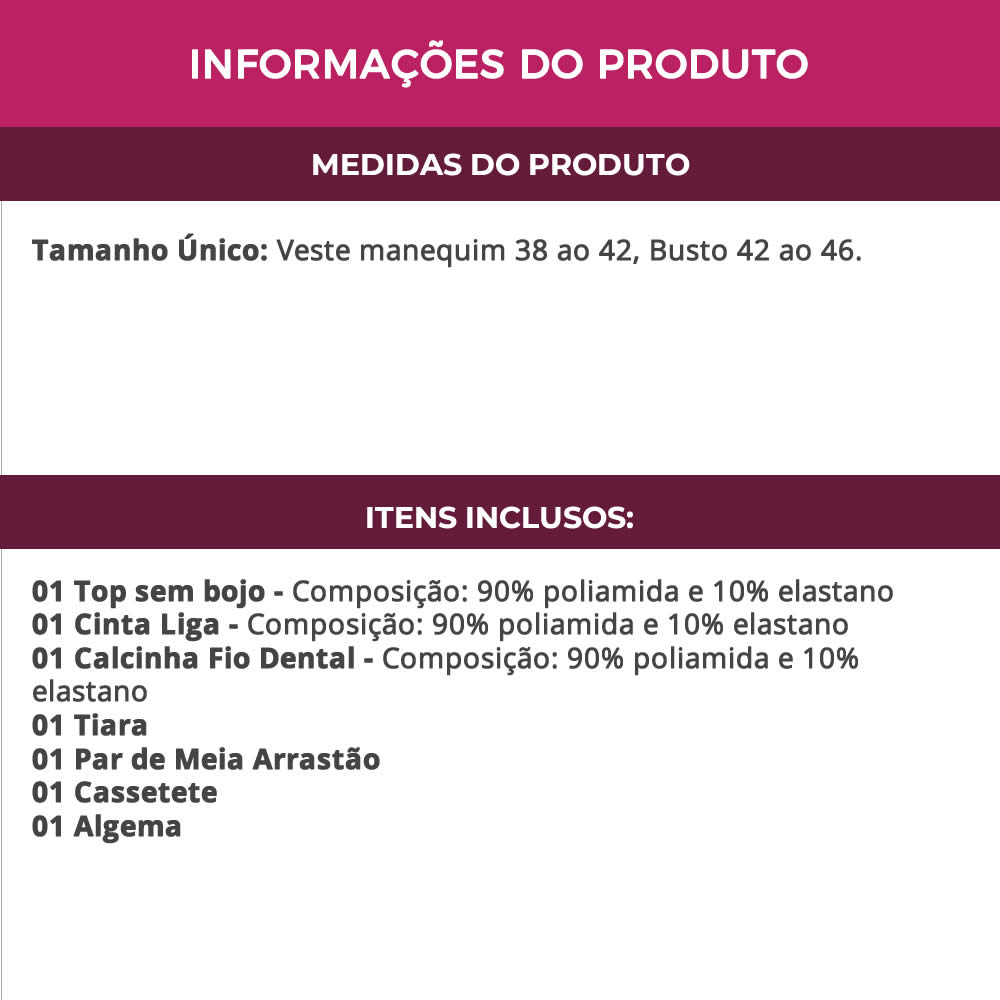 Kit Fantasia Erótica Policial + Meia Arrastão + Cassetete + Algema - EK2096