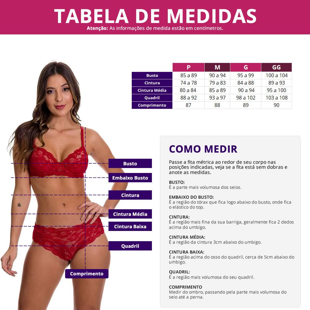 (Kit-V14) - 2 Camisolas Amamentação Com Robe em Microfibra 1 Vermelho e 1 Rosa - ES206-207