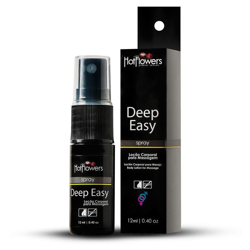 Óleo Deep Easy Spray Anal Afrodisíaco - HFHC447