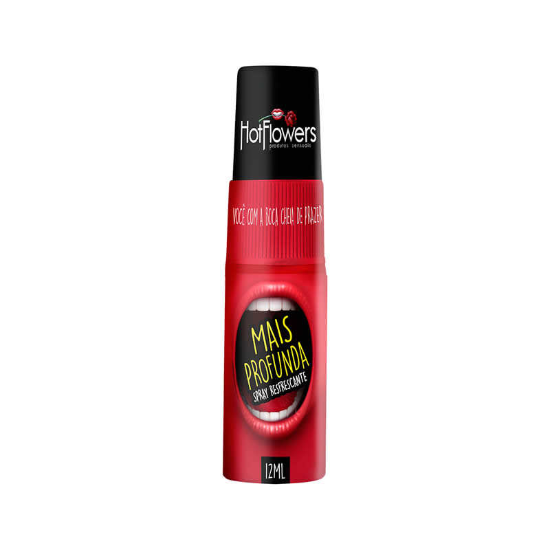 Spray Refrescante Mais Profunda para Sexo Oral - HFHC517