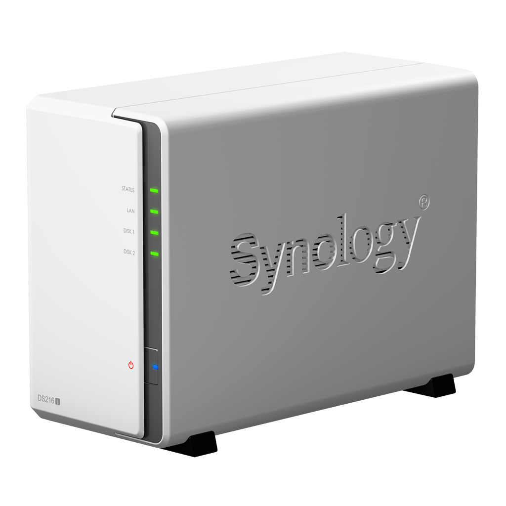 HD + Case Synology DiskStation DS216j 12TB  - Rei dos HDs
