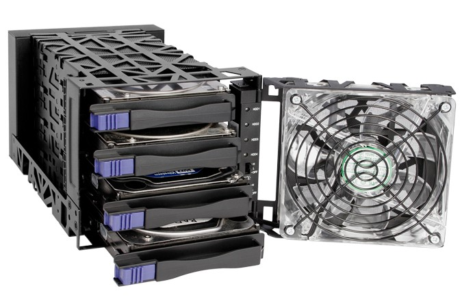 HD + Case Icy Dock Black Vortex 40TB  - Rei dos HDs