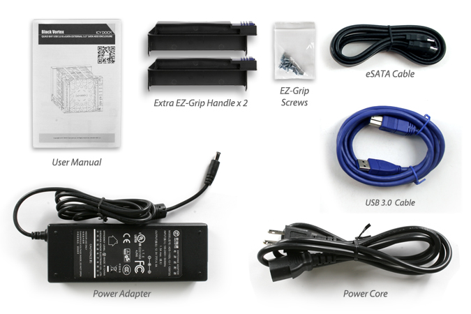 HD + Case Icy Dock Black Vortex 24TB  - Rei dos HDs