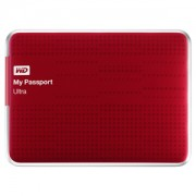 HD WD My Passport Ultra Red 1TB