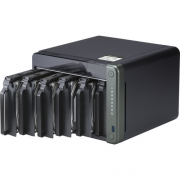 HD + Case Qnap TS-653D 72TB