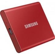 SSD Samsung T7 500GB Vermelho
