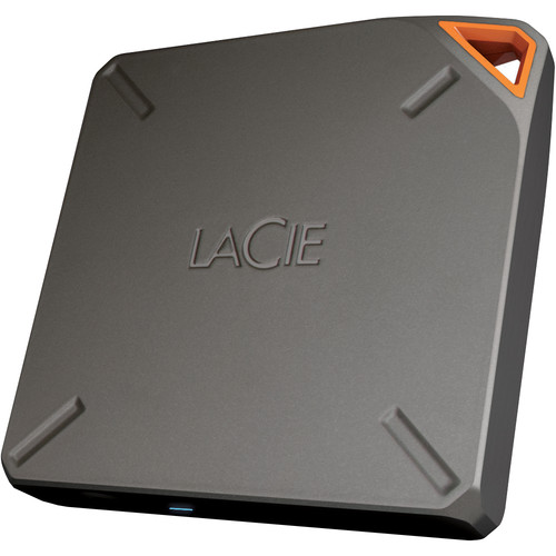 HD Externo LaCie Fuel Wireless 1TB  - Rei dos HDs