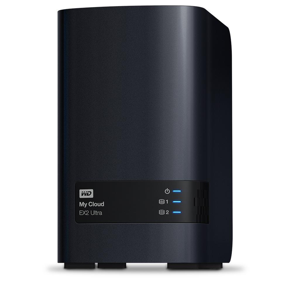 HD + Case WD My Cloud Expert Series EX2 Ultra 6TB  - Rei dos HDs