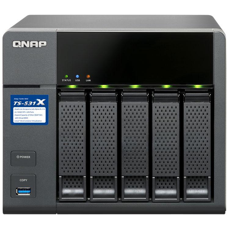 HD + Case QNAP TS-531X 5Bay 10TB  - Rei dos HDs
