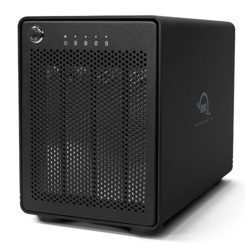 HD + Case OWC ThunderBay 4 Thunderbolt 2 40TB  - Rei dos HDs