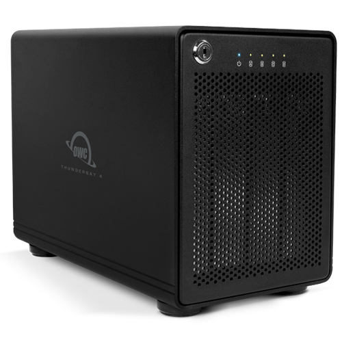 HD + Case OWC ThunderBay 4 Thunderbolt 2 20TB  - Rei dos HDs