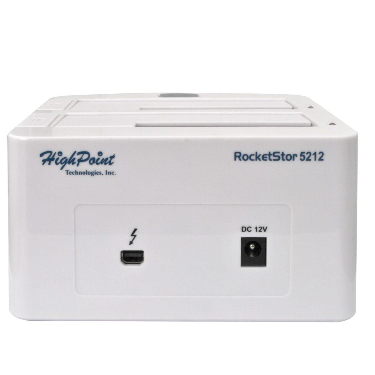 Dock HighPoint RocketStor 5212  - Rei dos HDs