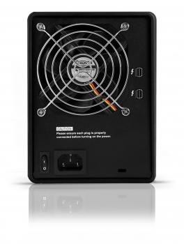 HD + Case Rocstor Rocpro T24 Thunderbolt 2 16TB  - Rei dos HDs