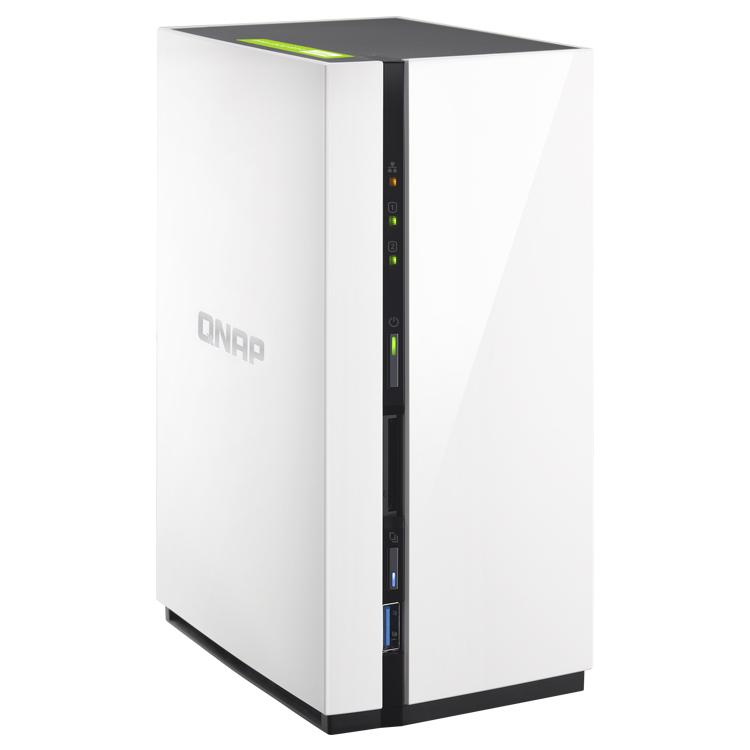 HD + Case QNAP TS-228 2Bay 8TB  - Rei dos HDs