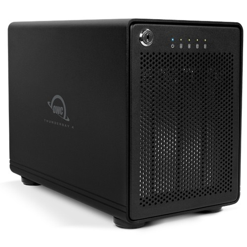 HD + Case OWC ThunderBay 4 Thunderbolt 2 40TB  - Rei dos HDs