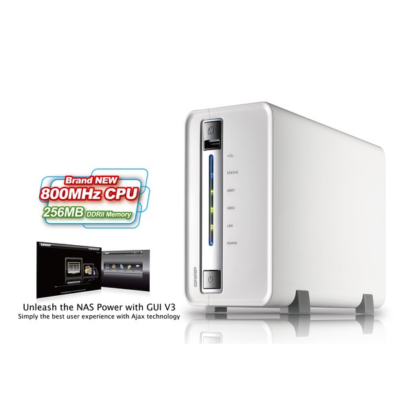 Case QNap TS-210 NAS/Storage para 2 HD´s  - Rei dos HDs