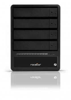 HD + Case Rocstor Rocpro T24 Thunderbolt 2 24TB  - Rei dos HDs