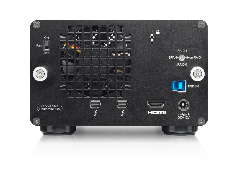 HD + Case AKiTiO Thunder2 Duo Pro 12TB  - Rei dos HDs