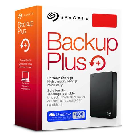 HD Externo Seagate BackUp Plus Portátil 4TB  - Rei dos HDs