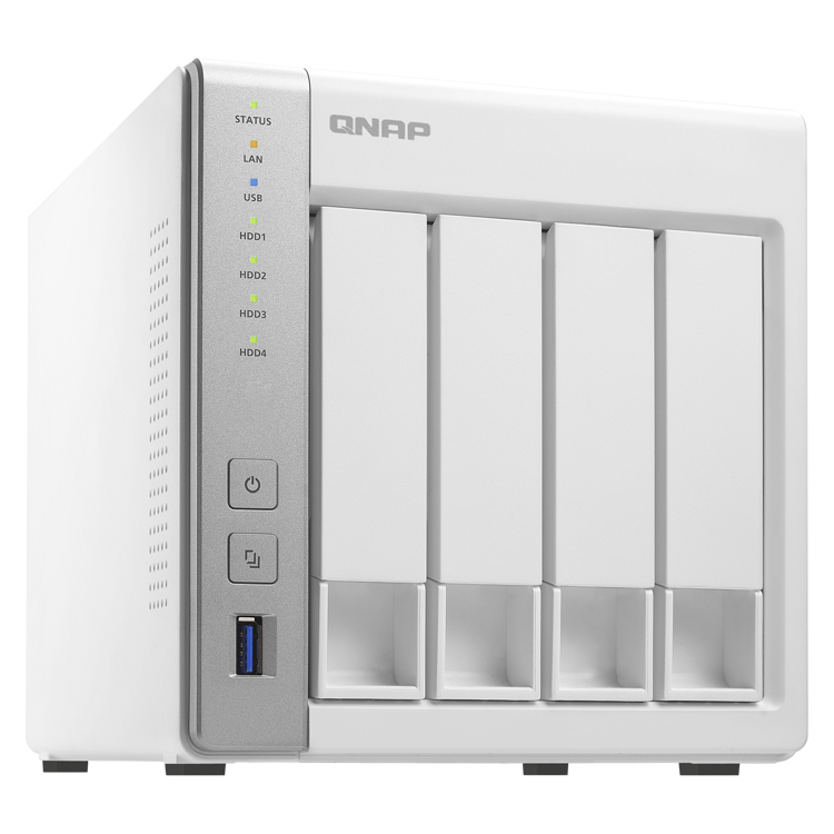 HD + Case QNAP TS-431P 16TB  - Rei dos HDs
