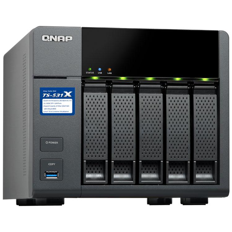 HD + Case QNAP TS-531X 5Bay 30TB  - Rei dos HDs