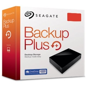 HD Seagate BackUp Plus Desktop 4TB  - Rei dos HDs