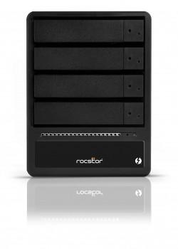 HD + Case Rocstor Rocpro T24 Thunderbolt 2 40TB  - Rei dos HDs