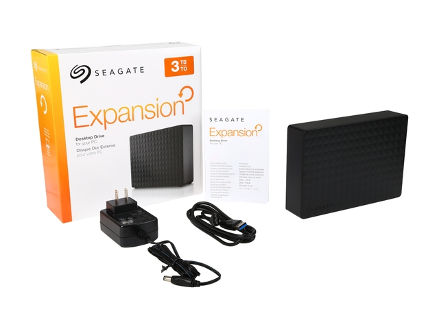 HD Seagate Expansion Desktop New 3TB - Rei dos HDs
