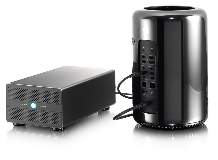 HD + Case AKiTiO Thunder2 Duo Pro 10TB  - Rei dos HDs