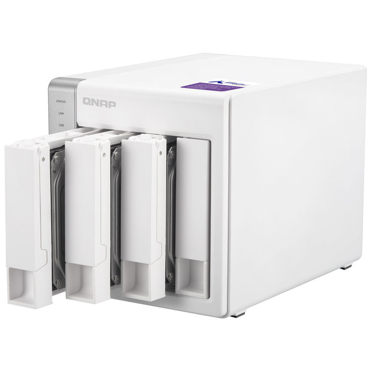 HD + Case QNAP TS-431P 20TB  - Rei dos HDs