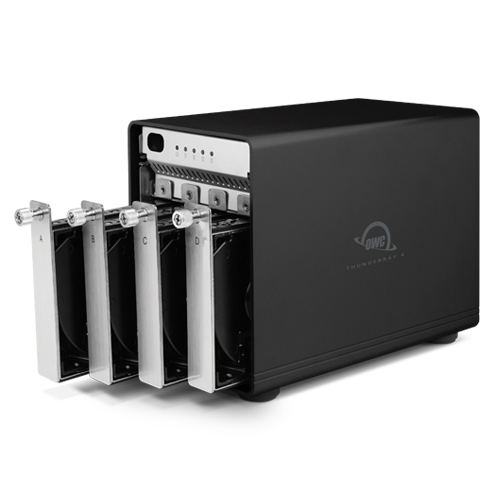 HD + Case OWC ThunderBay 4 Thunderbolt 2  8TB  - Rei dos HDs