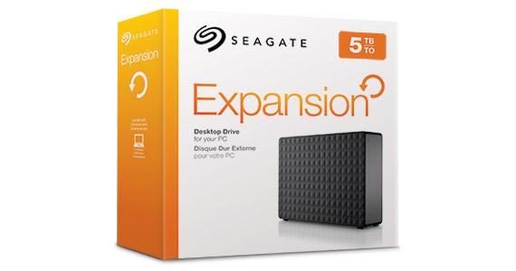 HD Seagate Expansion Desktop New 5TB  - Rei dos HDs