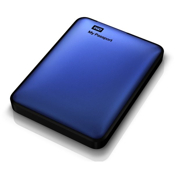 HD WD My Passport Azul 1TB  - Rei dos HDs