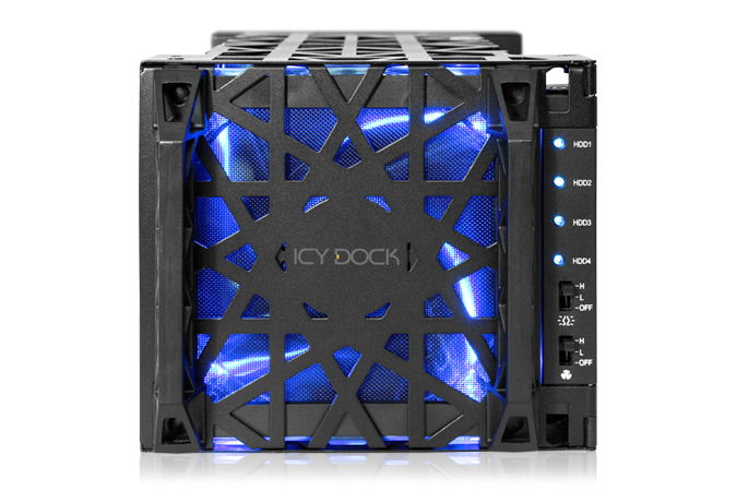 HD + Case Icy Dock Black Vortex 8TB  - Rei dos HDs