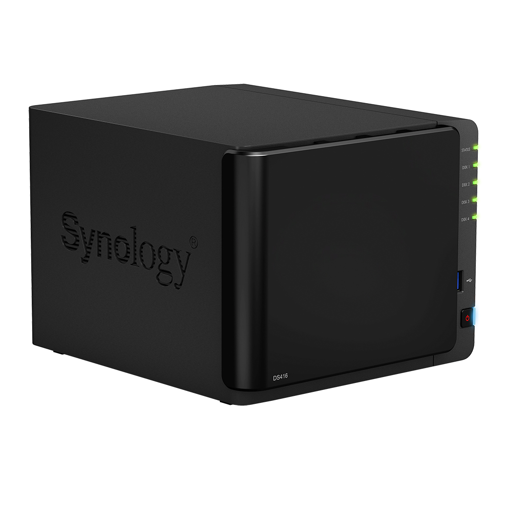 HD + Case Synology DiskStation DS416 12TB  - Rei dos HDs