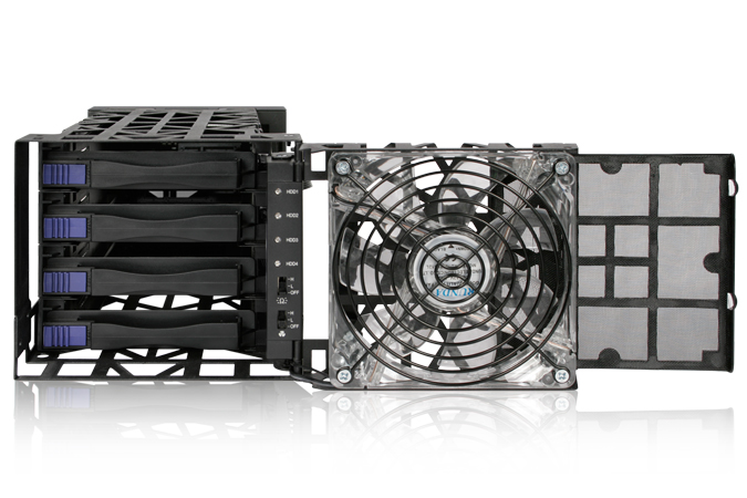 HD + Case Icy Dock Black Vortex 24TB  - Rei dos HDs