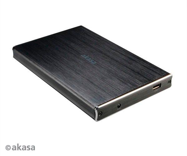 Case Akasa NOIR 2SX USB 3.1  - Rei dos HDs