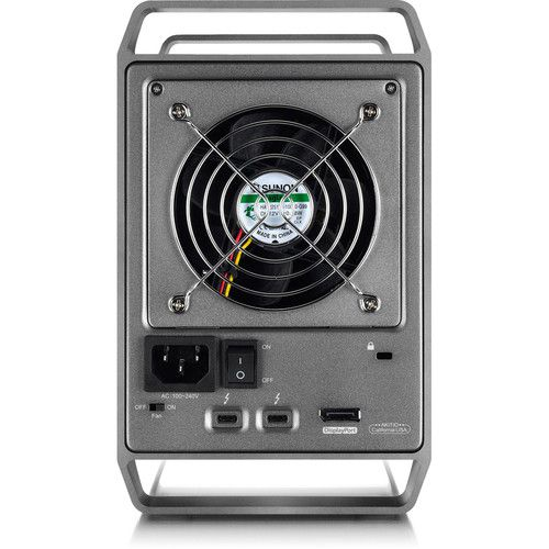 Case AKiTiO Thunder3 Quad X 0TB  - Rei dos HDs