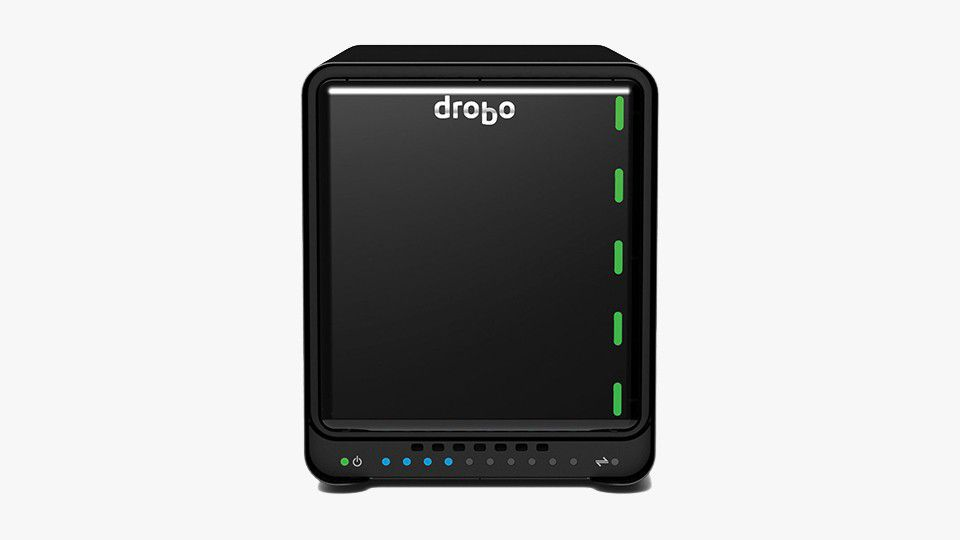 Case Drobo 5D3 Thunderbolt 3 0TB  - Rei dos HDs