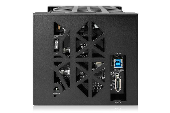 Case Icy Dock Black Vortex 0TB  - Rei dos HDs