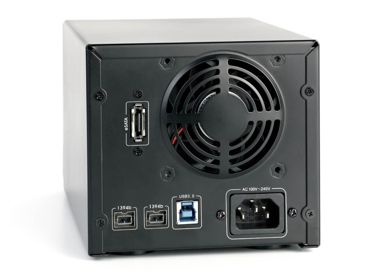Case Oyen Digital Mobius 2-Bay 0TB  - Rei dos HDs