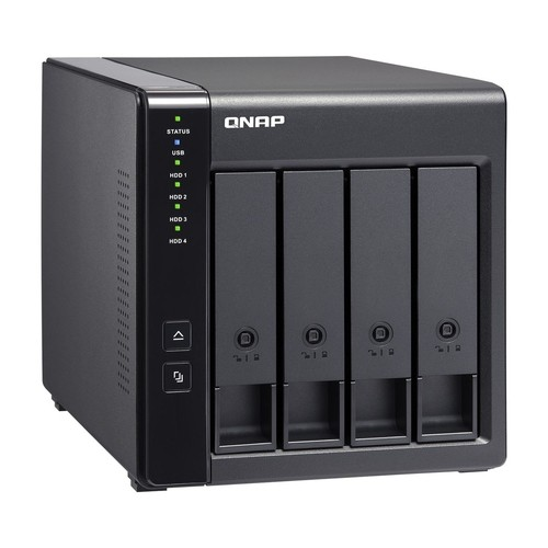 Case Qnap TR-004 0TB  - Rei dos HDs