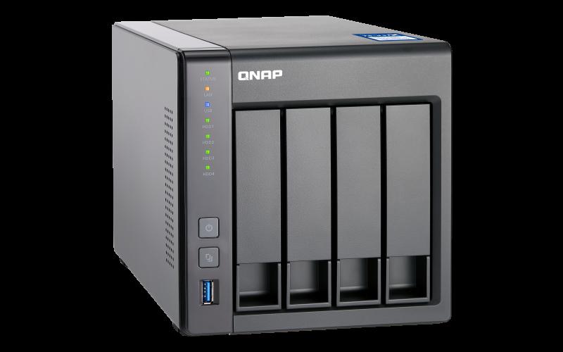 Case QNAP TS-431X 0TB  - Rei dos HDs