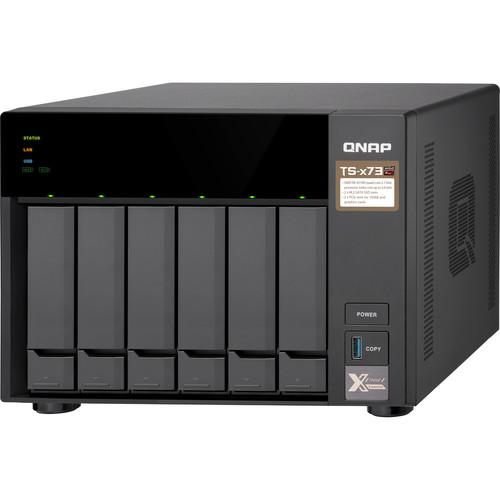 Case Qnap TS-673 0TB  - Rei dos HDs