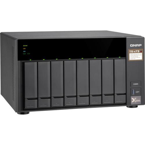 Case Qnap TS-873 0TB  - Rei dos HDs