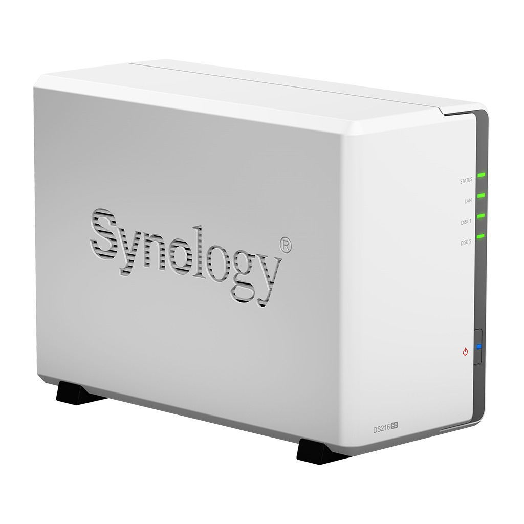 Case Synology DiskStation DS216se 0TB  - Rei dos HDs