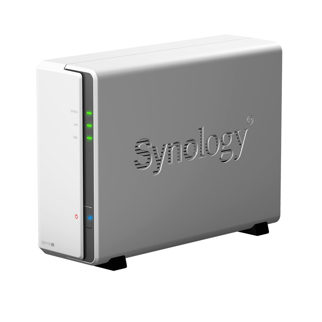 Case Synology DS119J 0TB  - Rei dos HDs